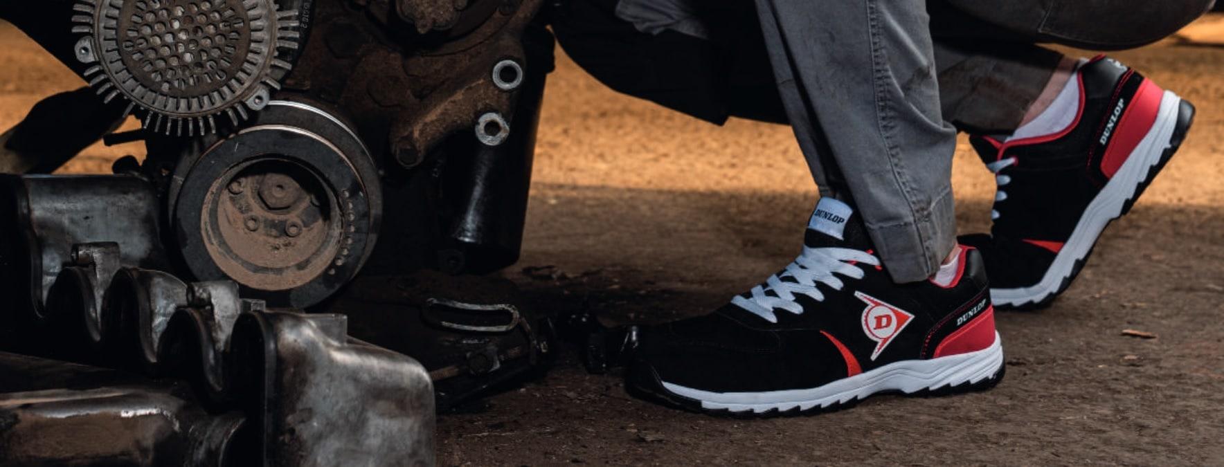 foto de unas zapatillas Dunlop