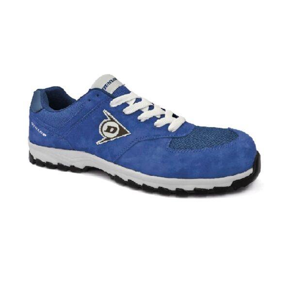 Zapatos Azules Con Puntera