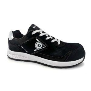 Zapatillas Negras/Blancas con Puntera